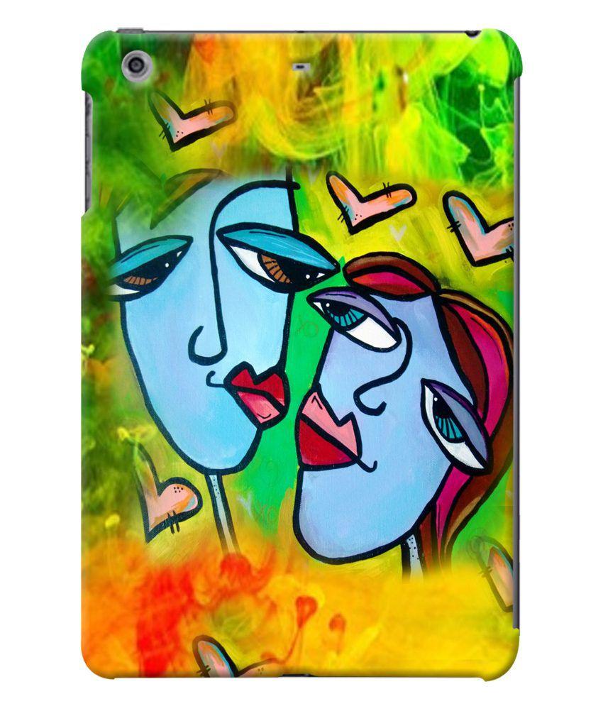 Fuson Premium Designer Colourful Love Couple Back Case ...