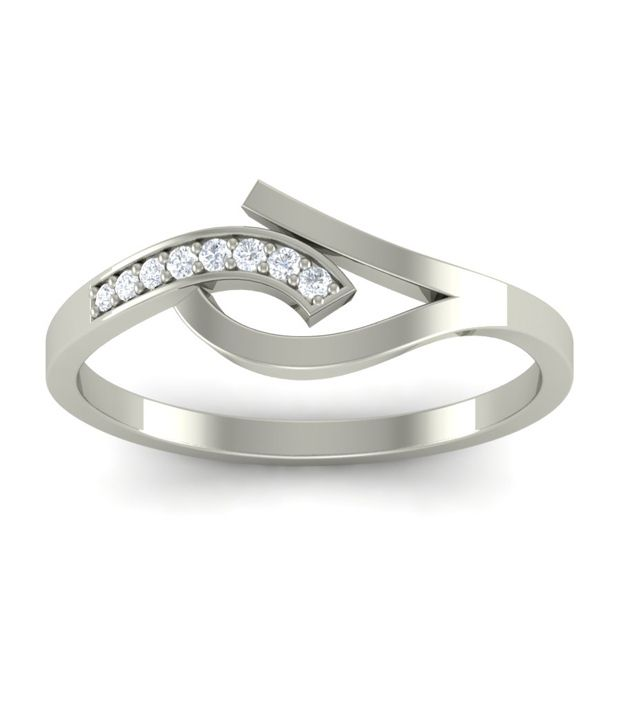 Diaonj Diamond Tail Grip Diamond 14Kt Ring