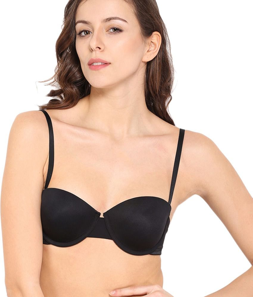 8520c3583c85e Buy Enamor Black Bra Online at Best Prices in India - Snapdeal