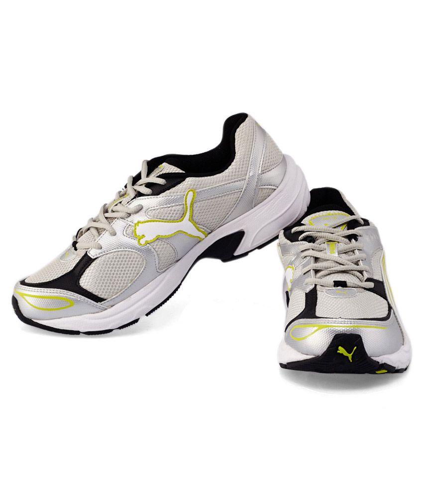 Puma Axis III Dp White Sports Shoes - Buy Puma Axis III Dp White ... 16678f0f79