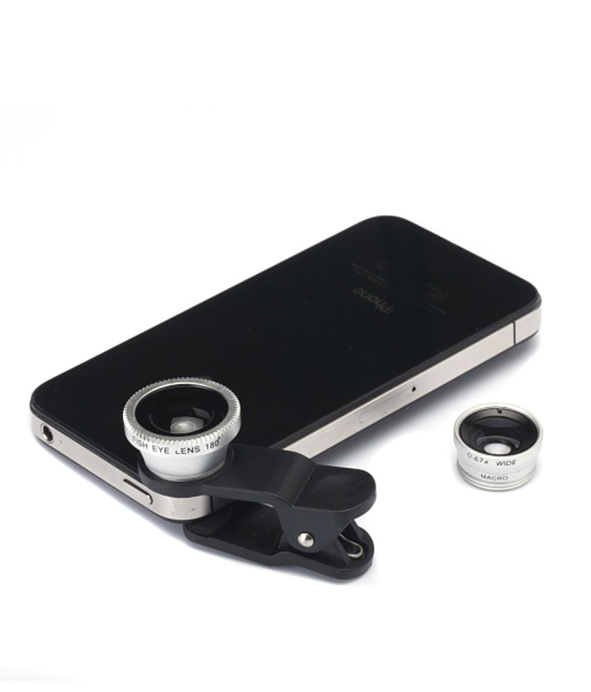 Fotonica Universal Cell Phone Camera Lens Kit Multicolor