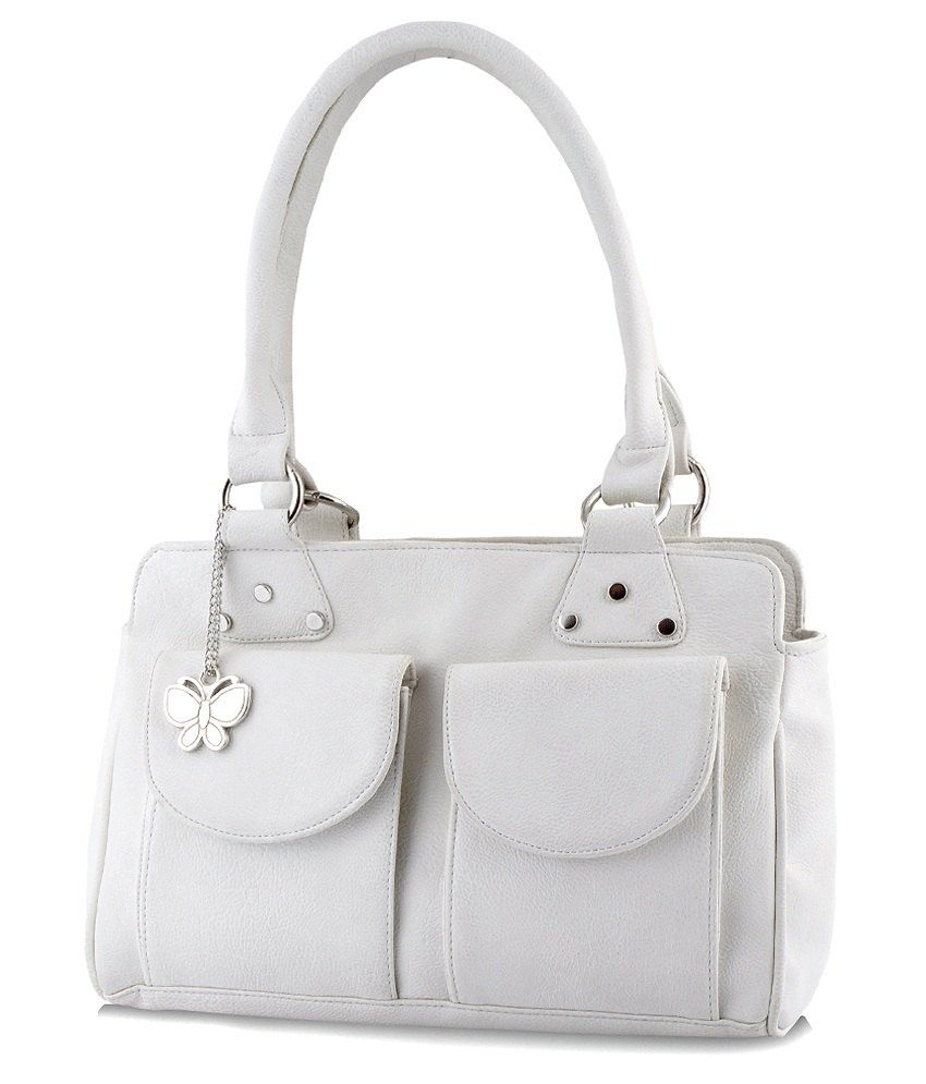 Butterflies Off White P.u. Shoulder Bag  available at snapdeal for Rs.1499