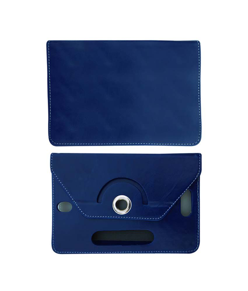 Fastway 8 Inch Rotate Tablet Book Cover For Asus Memo Pad 8 me 180a Tab - Blue