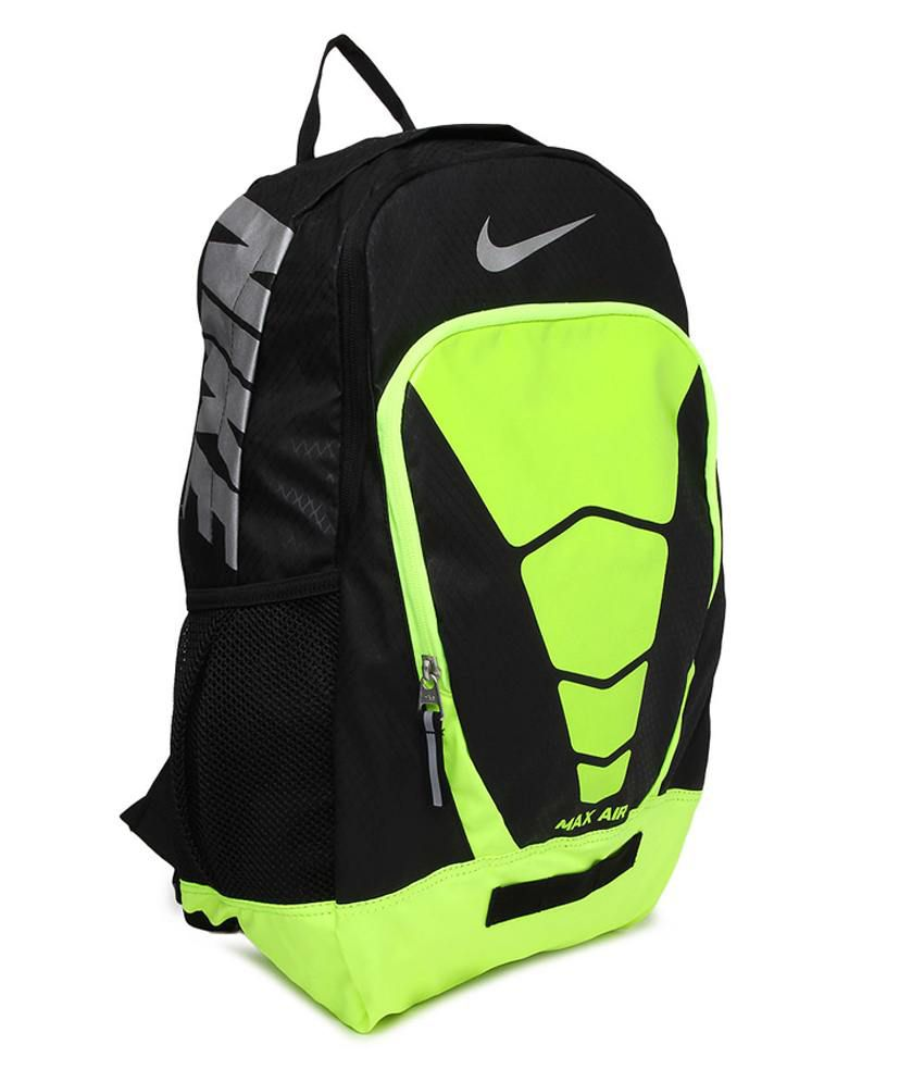 3be29e92b30418 Nike Green Polyester Max Air Vapor Backpack - Buy Nike Green ...