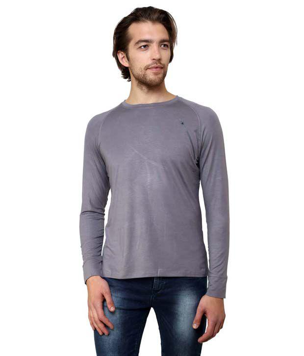 Wear Your Mind Long Sleeve Grey Tshirt