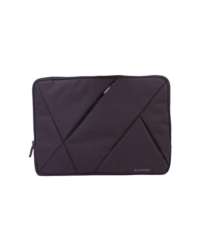 Neopack Canvas Sleeves for 14.1 inch Laptop & 15.4 Inch Macbook Pro (Black)