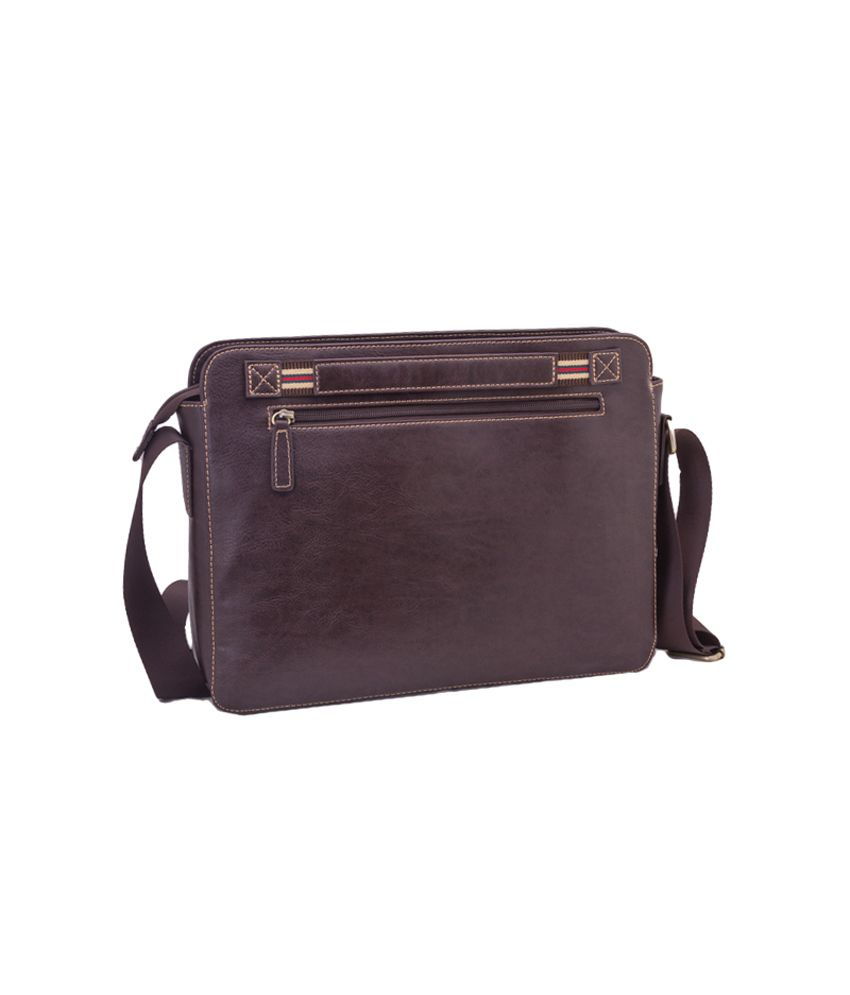 00707de234 Neopack Urban Messenger Bag for 13.3 inch Laptop   Macbook (Brown) - Buy  Neopack Urban Messenger Bag for 13.3 inch Laptop   Macbook (Brown) Online  at Low ...