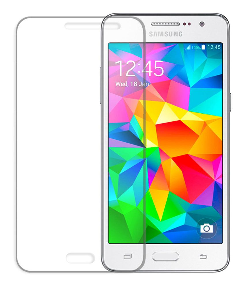 Samsung Galaxy Grand Max (4 Pcs) Clear Screen Guard by Mob Star
