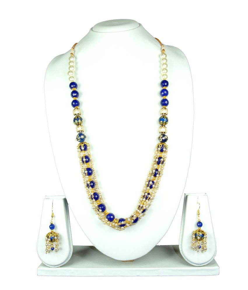 Osas Semi Precious Stone Necklace Set