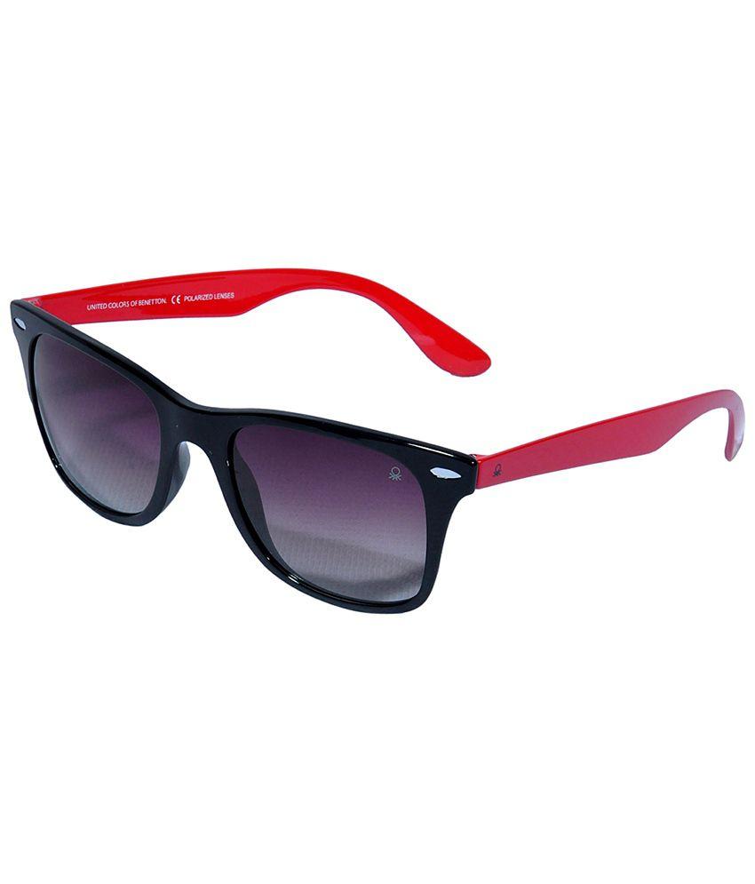 UCB Black Non Metal Sunglasses