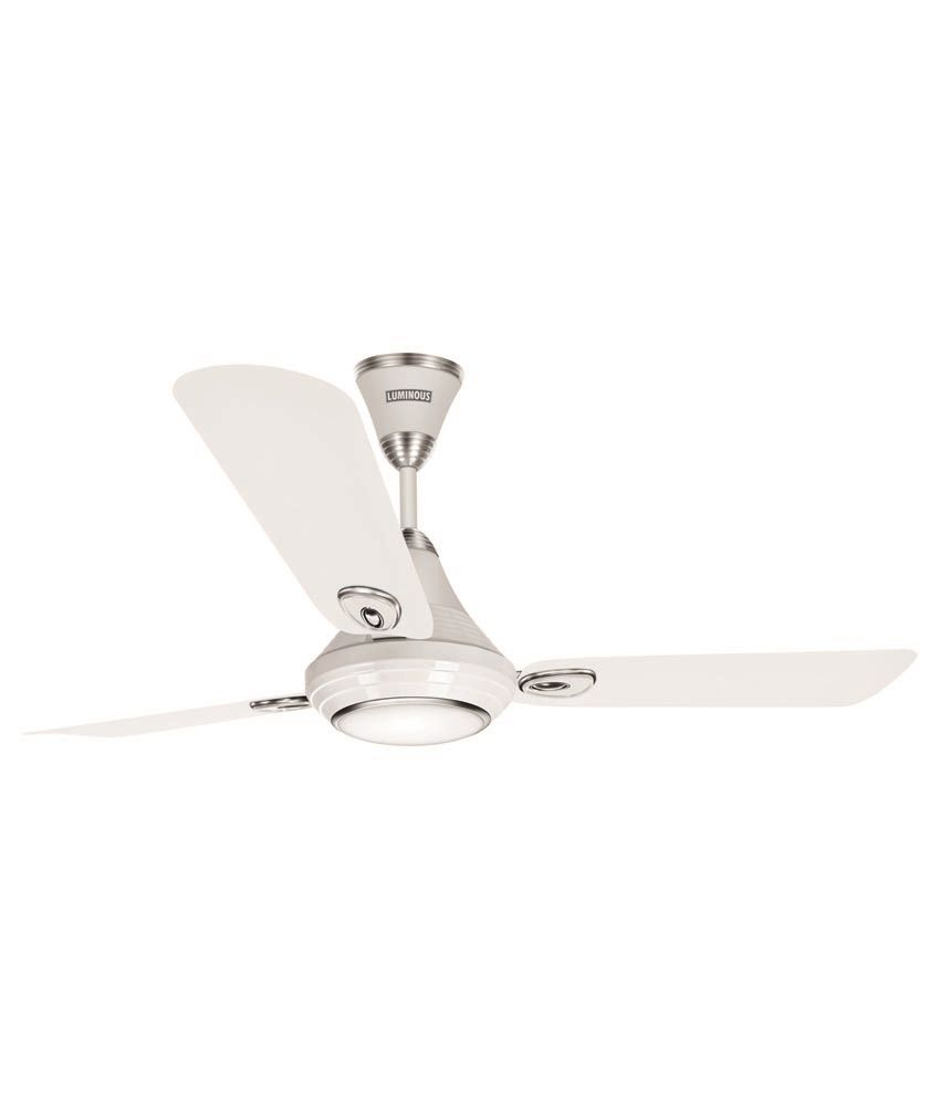 Luminous 1200mm Lumaire Underlight Ceiling Fan Mint White With Remote