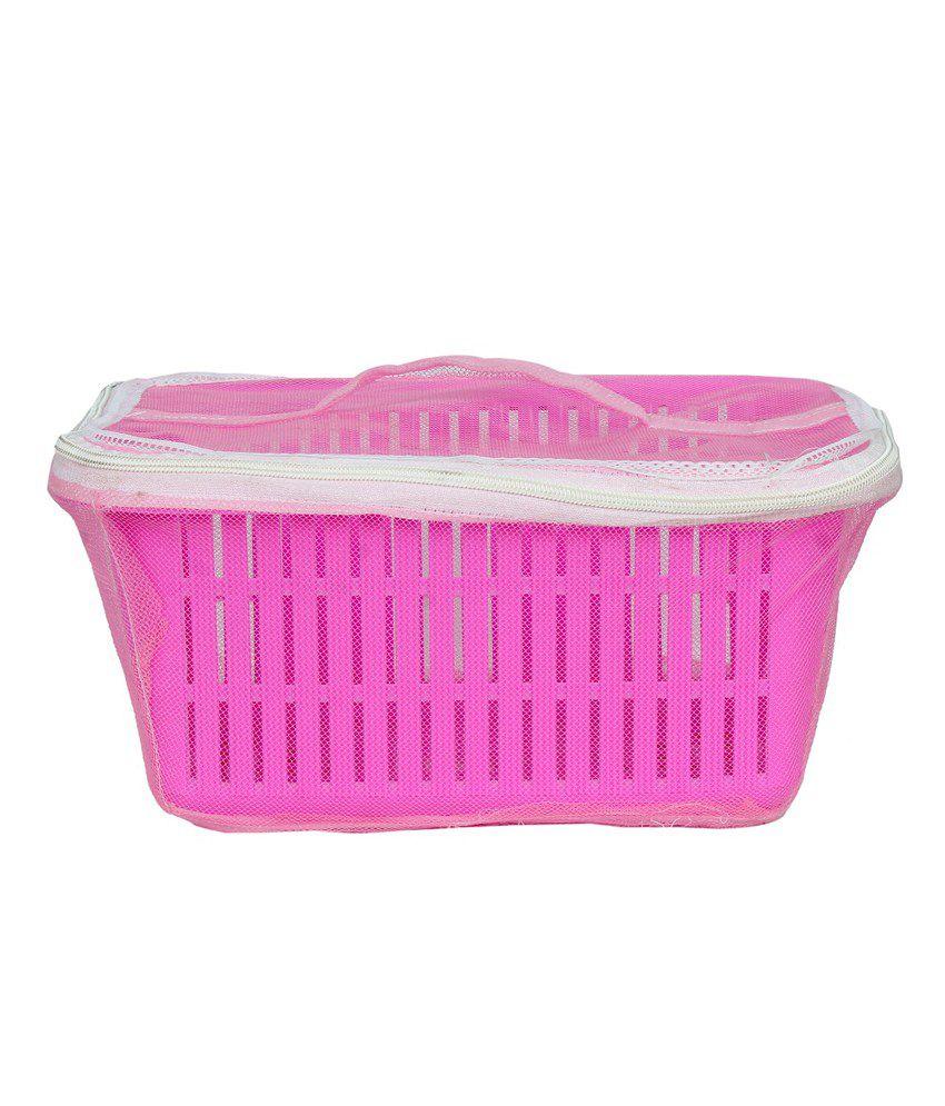 Dhyey Creations Plastic Fruit Amp Vegetable Basket With Net