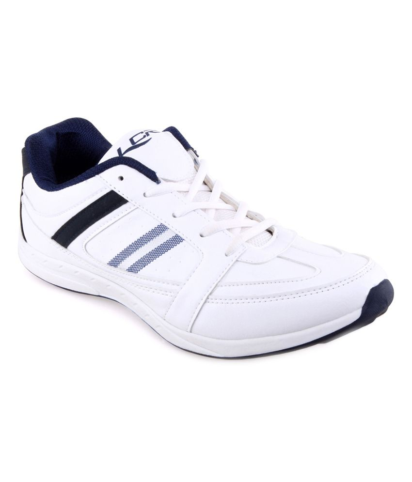 Lancer White & Blue Sports Shoes