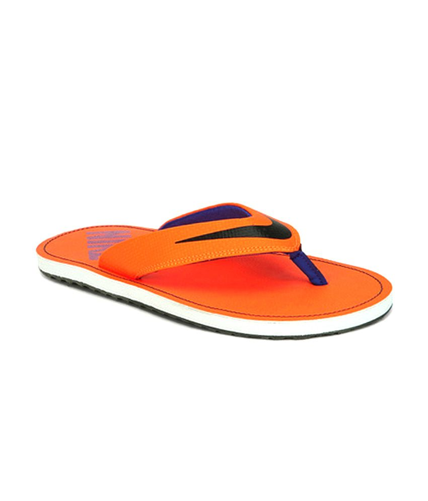 Nike Orange Slippers Price in India- Buy Nike Orange Slippers Online at  Snapdeal 4212a4cfe8