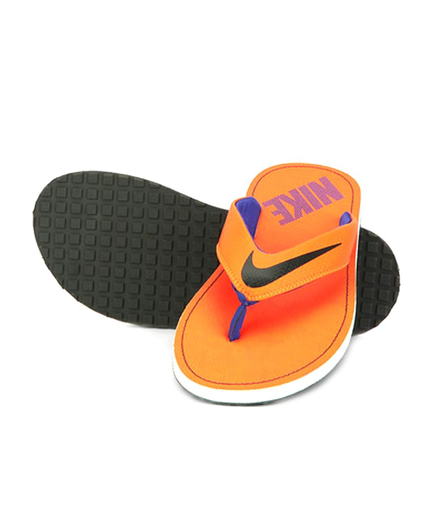 4377965202c0 Nike Orange Slippers Price in India- Buy Nike Orange Slippers Online ...