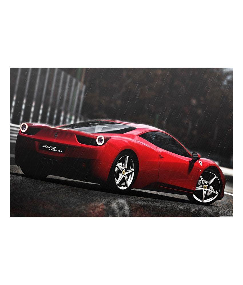 Shopolica Ferrari Car Poster