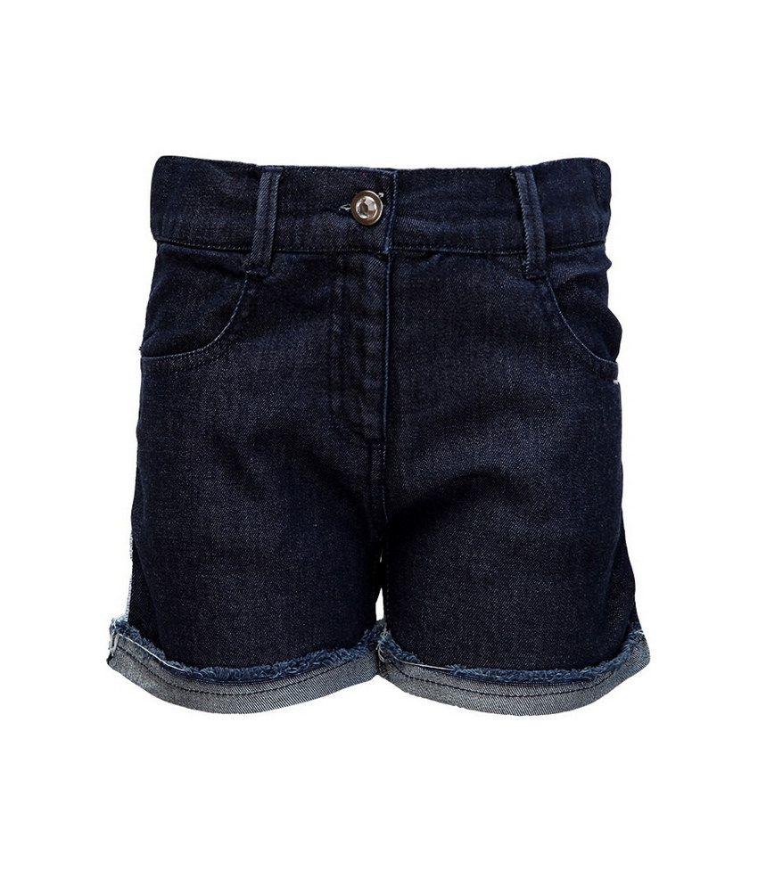Cool Quotient Med Blue  Dnm Lace Detailing Shorts For Kids