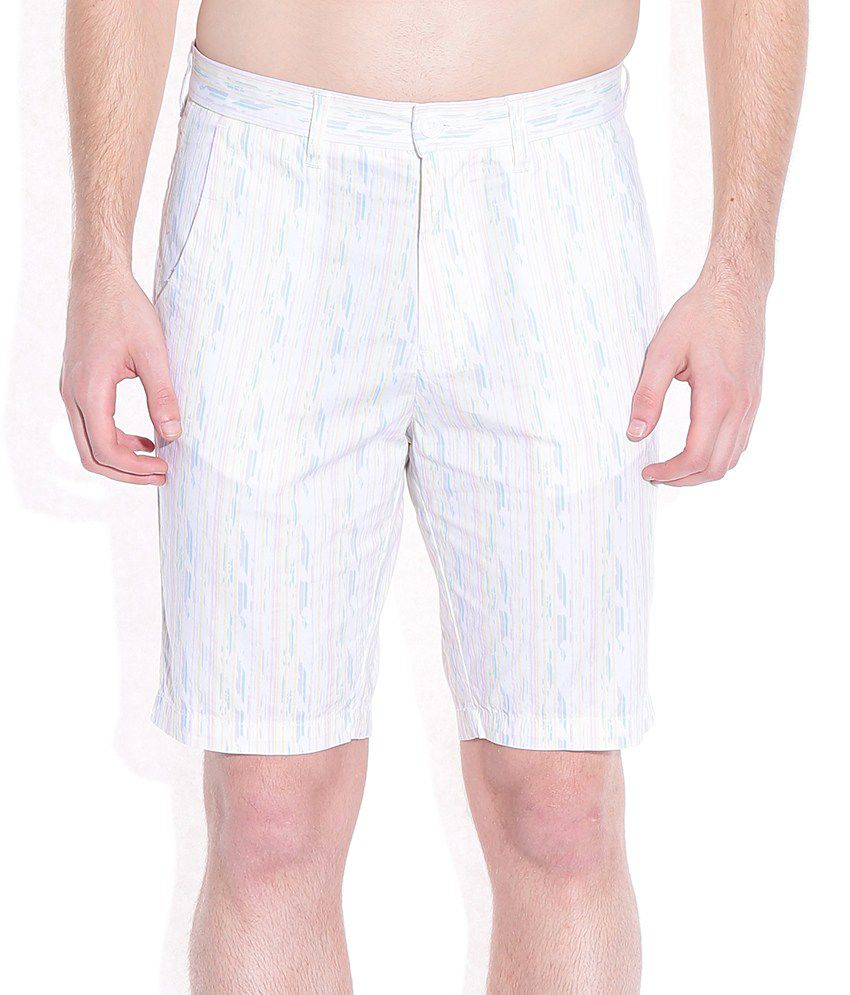 United Colors of Benetton Multicoloured Printed Shorts
