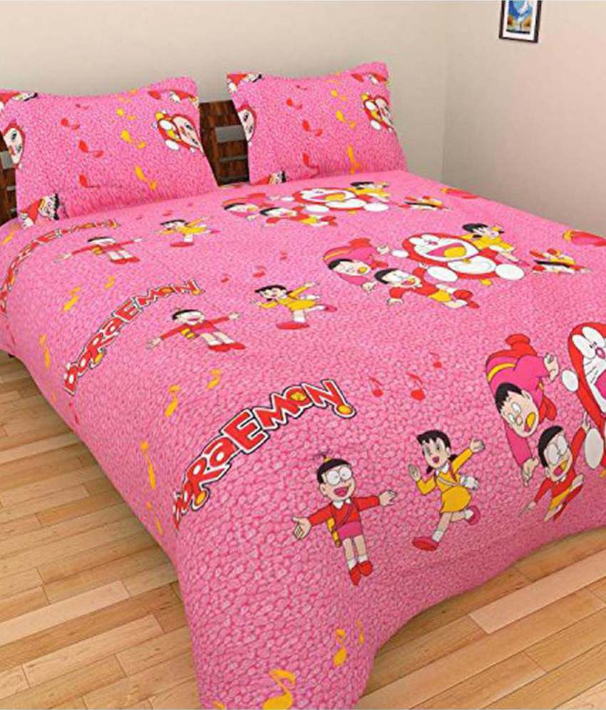 Bed Sheets With Pillow Cover Online