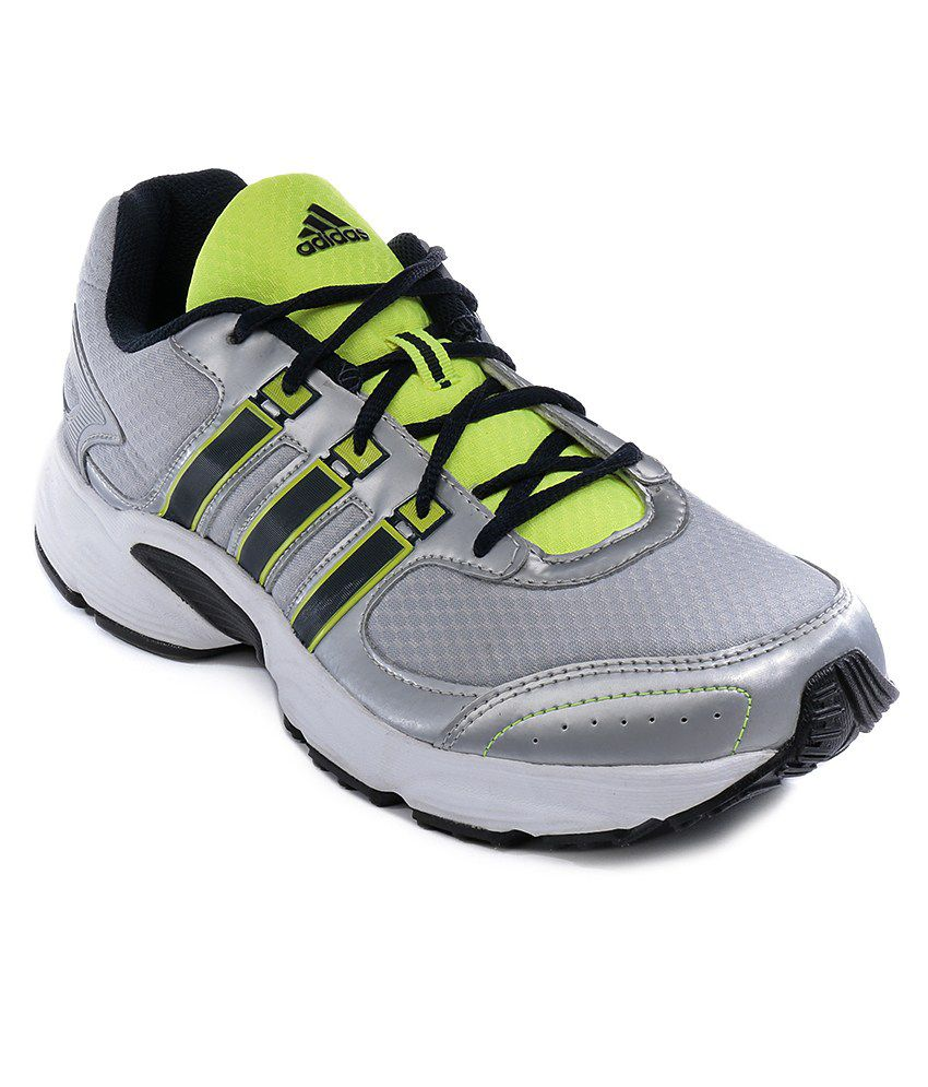Adidas Vanquish Silver Sport Shoes
