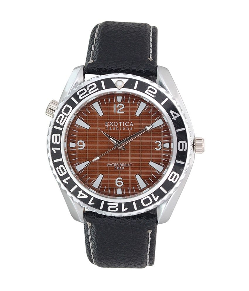 Exotica fashions analog watch for men