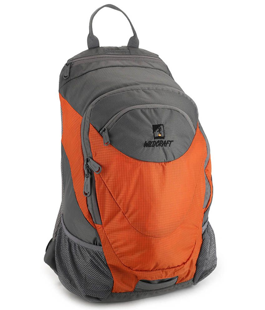 6355a5f0f Wildcraft Daypack A4 Orange 20 L Backpack - Buy Wildcraft Daypack A4 Orange  20 L Backpack Online at Best Prices in India on Snapdeal