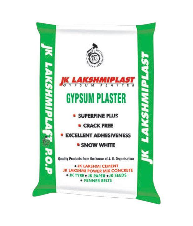 Jk Cement Products : Buy jk lakshmi cement plast gypsum plaster kg bag online