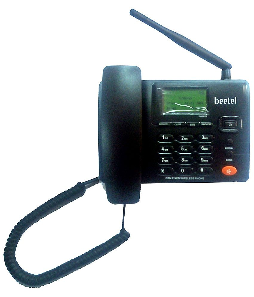 Beetel F1 Wireless Gsm Landline Phone Black
