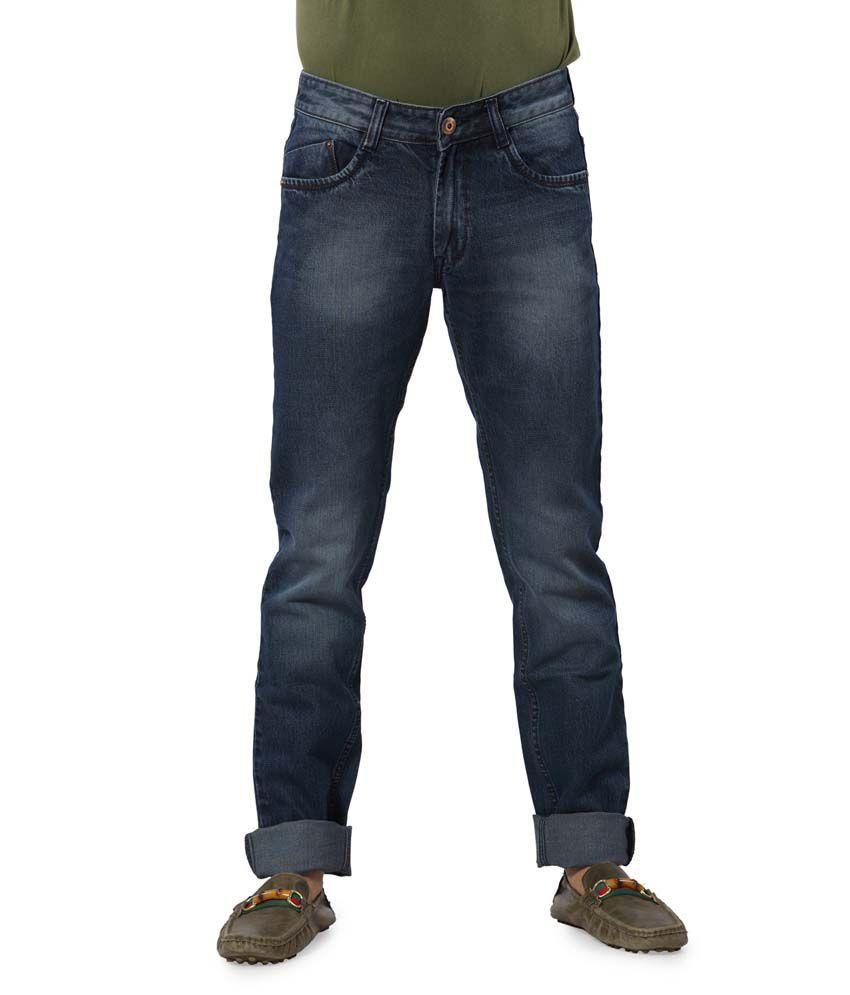Boddy&Me Blue Cotton Slim Fit Jeans
