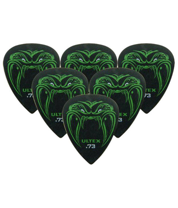 Jim Dunlop Black Fang James Hetfield Guitar Pick 0.73mm Pack of 6 ...