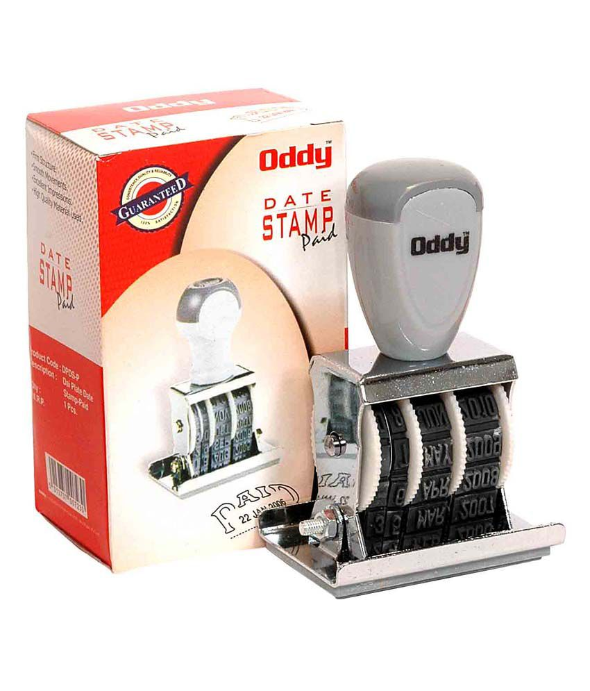Oddy Dater Stamp With