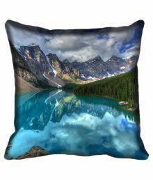 Mesleep Multicolour Satin Cushion Cover - 4 Piece - 651276664260