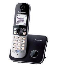 Panasonic 5 Redial Memory Cordless Phone KX TG 6811