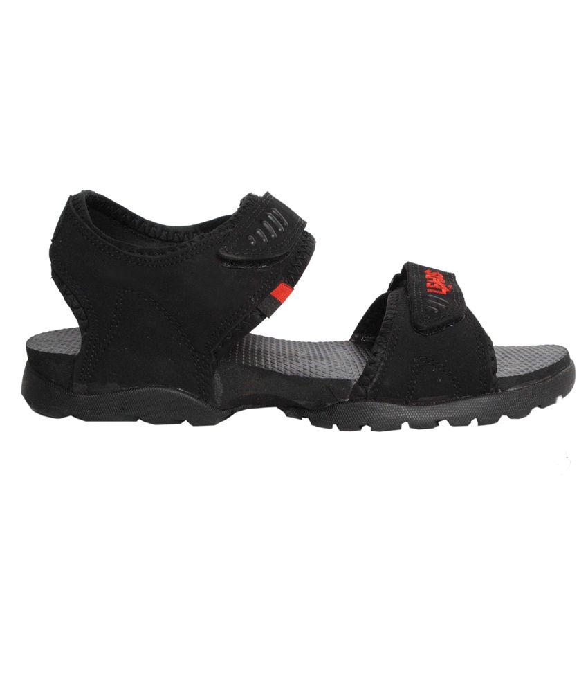 edeb763856e7 Aqualite Leads Black Floater Sandals Aqualite Leads Black Floater Sandals  ...