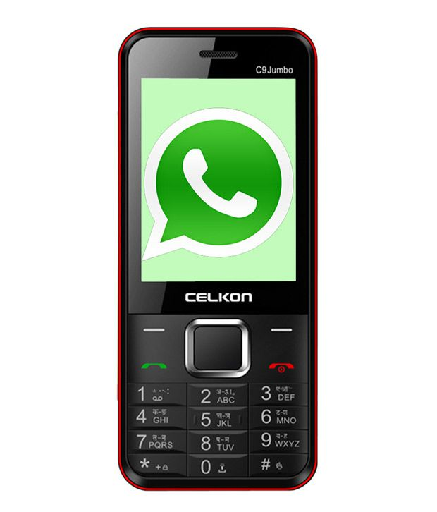 Celkon C9 Jumbo (Black + Red )