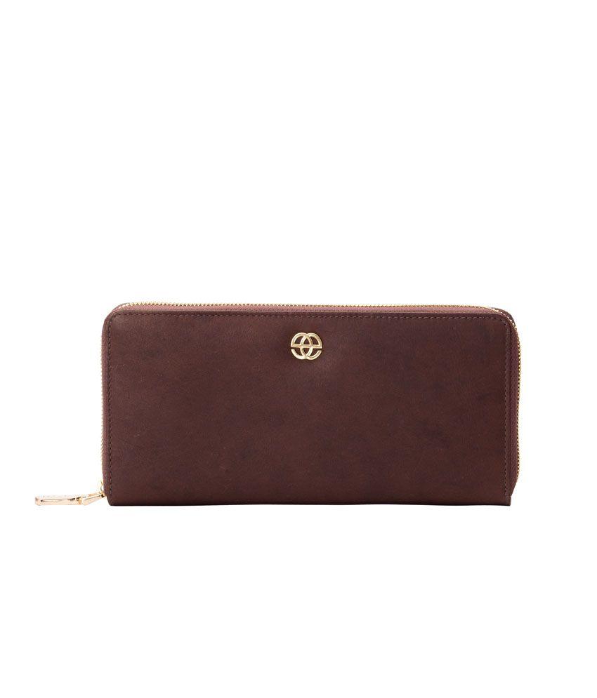 Eske Tan Leather Wallet