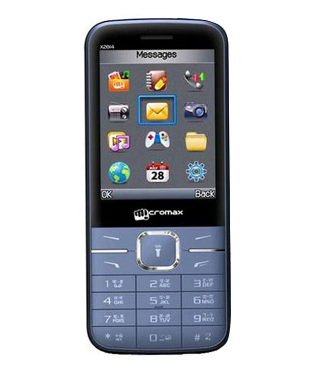 Micromax X2814 (Blue) - Feature Phone Online at Low Prices ...