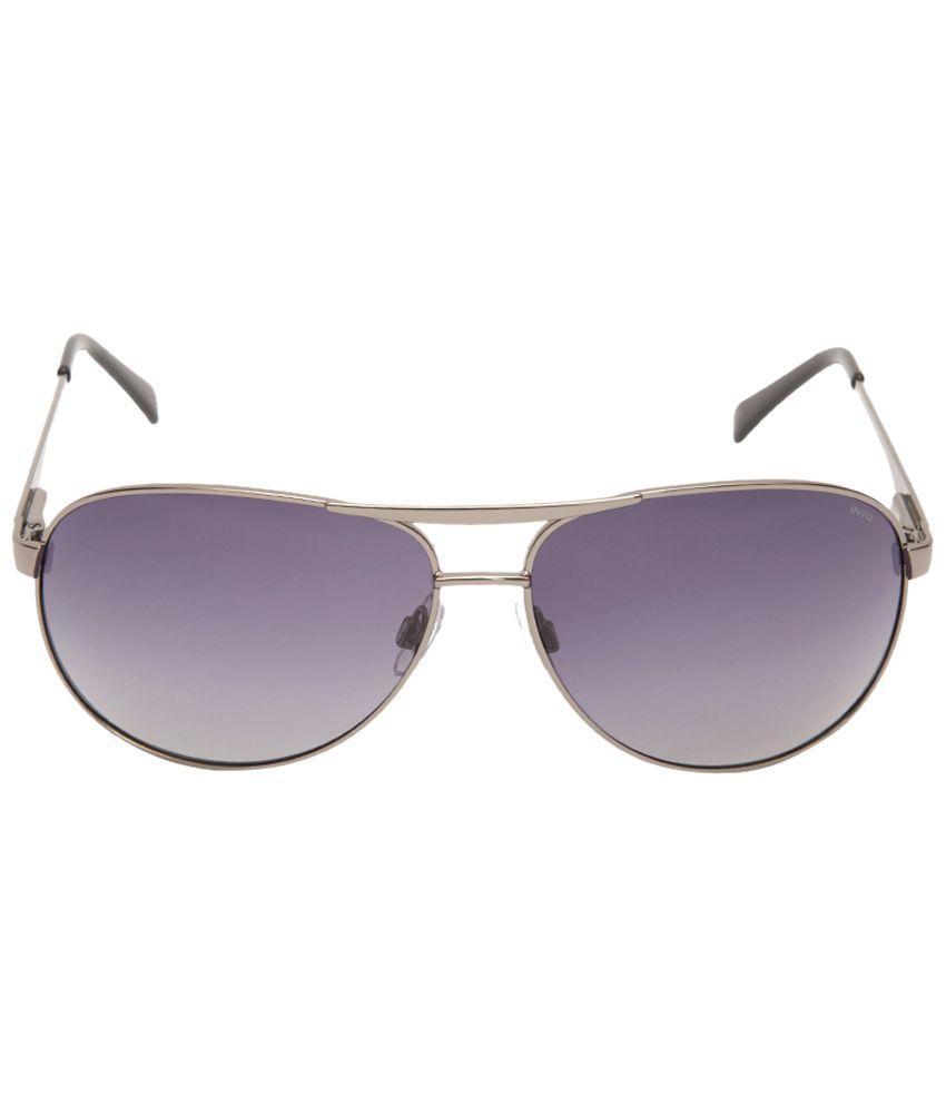 775b691177e9b 18% OFF on Invu Impressive Purple Oval Unisex Sunglasses on Snapdeal ...