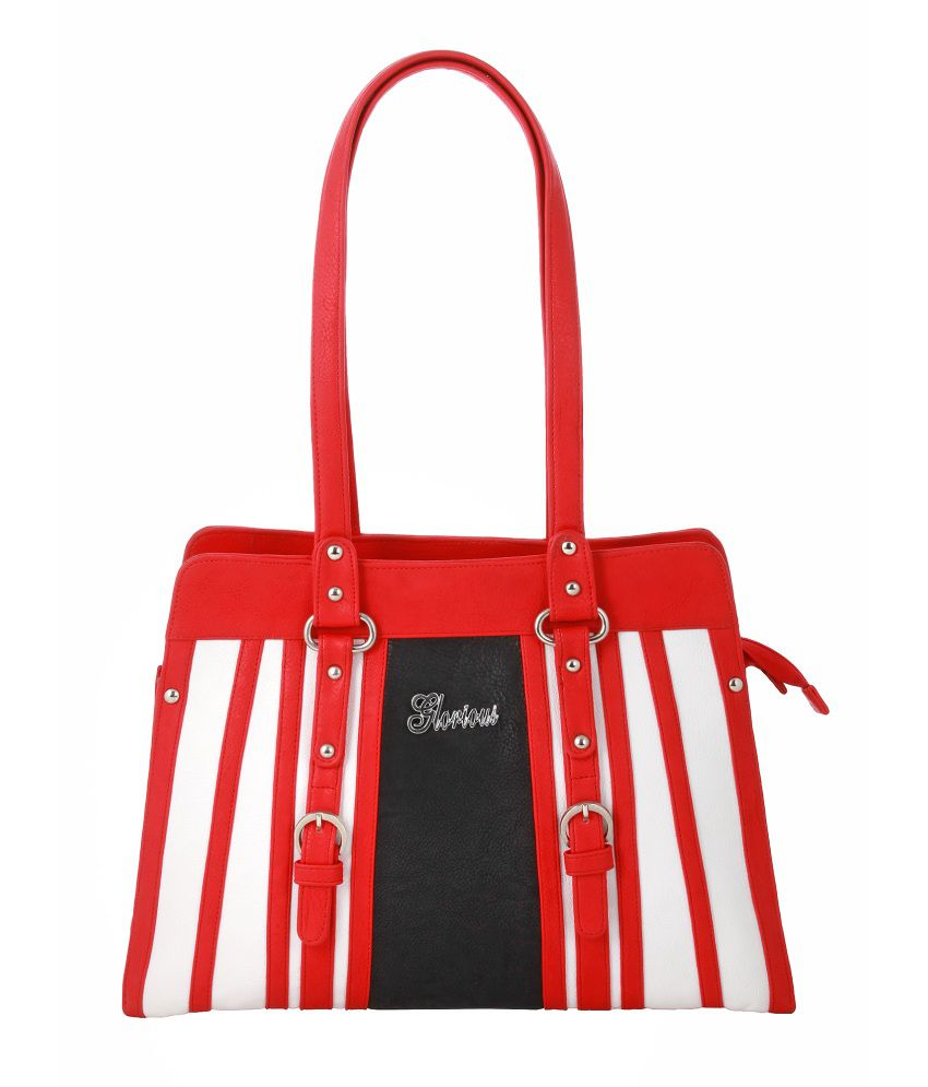 Kalon Red Shoulder Bag
