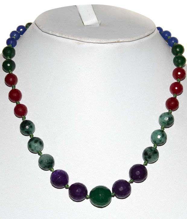 Kcj 18kt Precious Gems Necklace