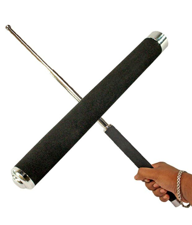 jm self defense system telescopic iron baton folding stick buy