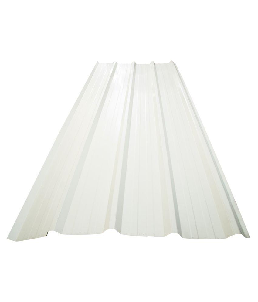 A1 Fiber Glass Emporium Color Coated Metal Sheet Off White