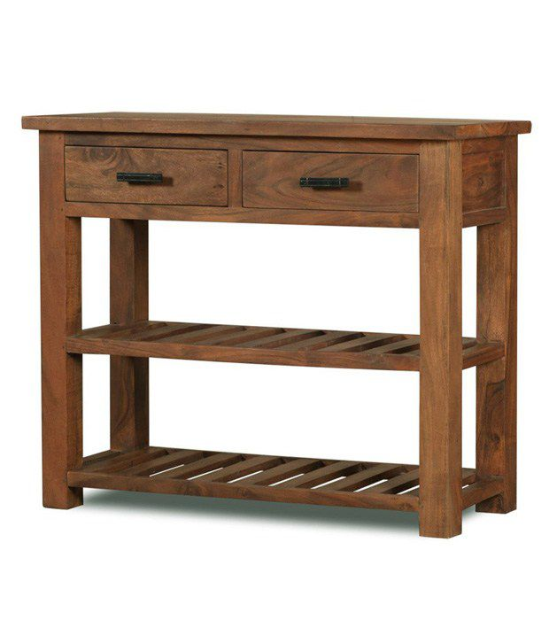 Elwood Solid Wood Console Table