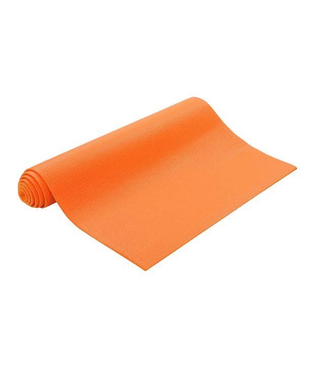 Leaflight Yoga Mat Yellow 4mm Full Length Exercise Mat