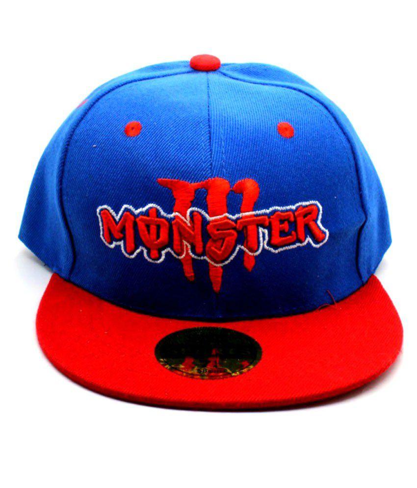 Blue Color Hip Hop cap - Buy Online   Rs.  e46b7c50384