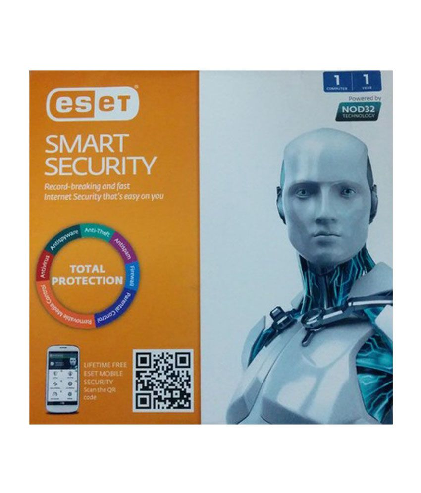 Eset 1 Pc 1 Year Version 8 Smart Security