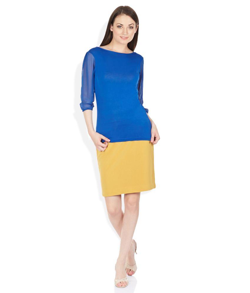 91cad474da Park Avenue Woman Yellow Pencil Skirt Park Avenue Woman Yellow Pencil Skirt  ...
