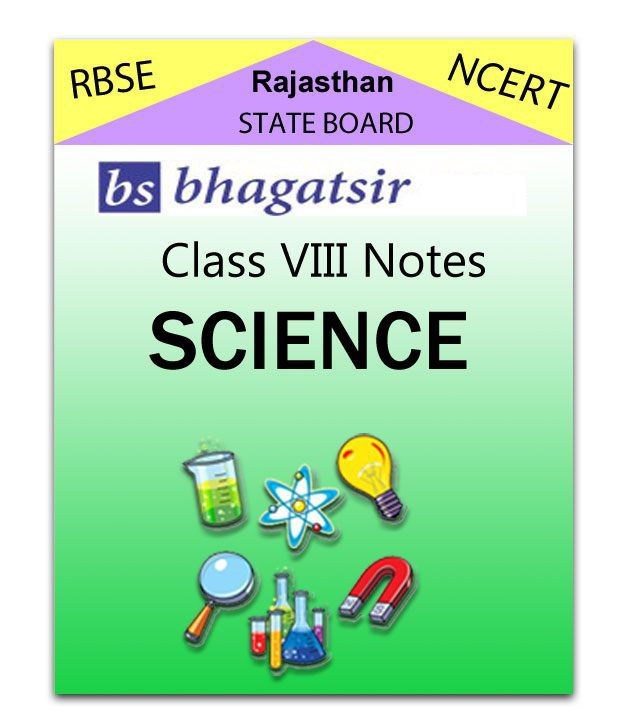 RAJASTHAN Board Class 8 Science Chapter Notes Online Self