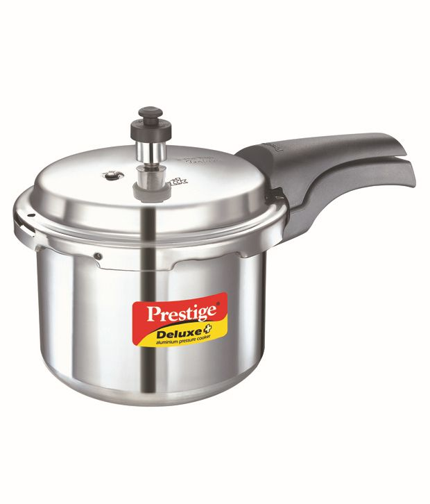 166a4a47a68 Prestige Deluxe Plus 3 Ltr Outer Lid - Aluminium Pressure Cooker  Buy  Online at Best Price in India - Snapdeal