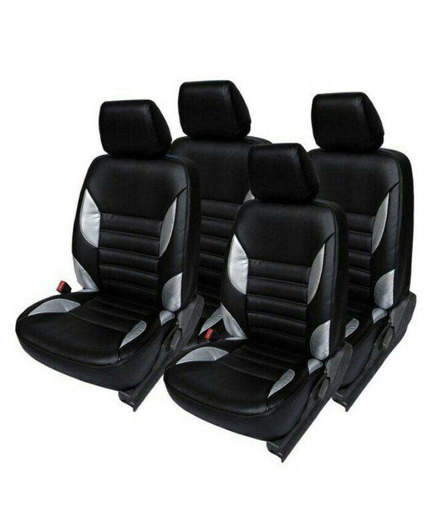 Vegas Black PU Leather Car Seat Cover For Hyundai Elite